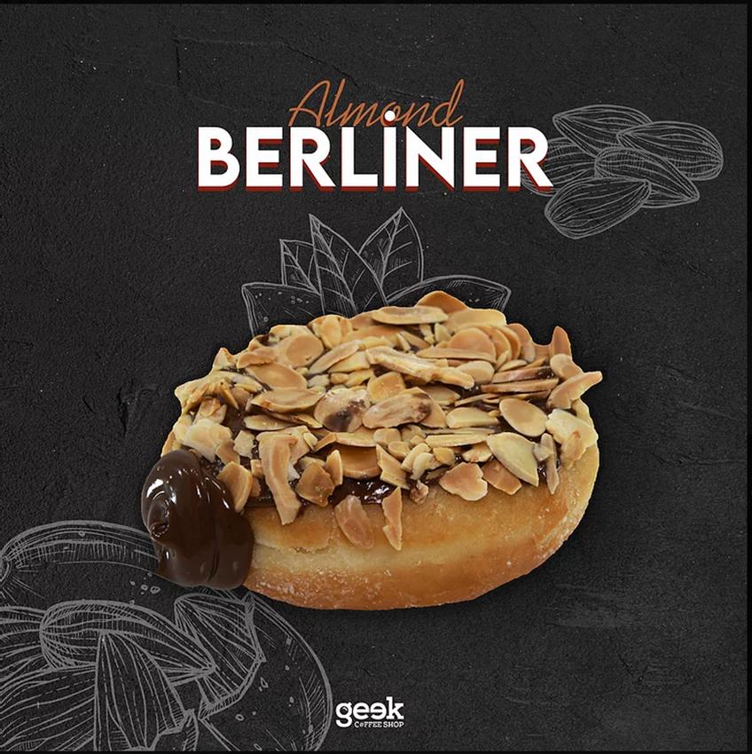 Resim Berliner Çikolatalı Bademli