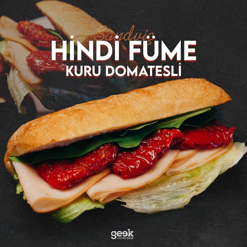 Resim Hindi Fümeli Kuru Domates Sandviç