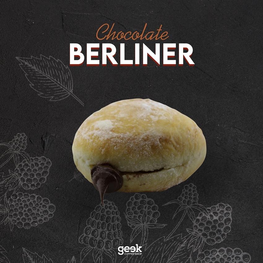 Resim  Berliner Çikolatalı
